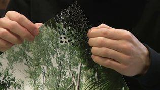 Le plasticien Marc-Antoine Garnier en résidence artistique à l'école d'art de Calais crée des oeuvres inspirées du territoire calaisis (France 3 Hauts-de-France)
