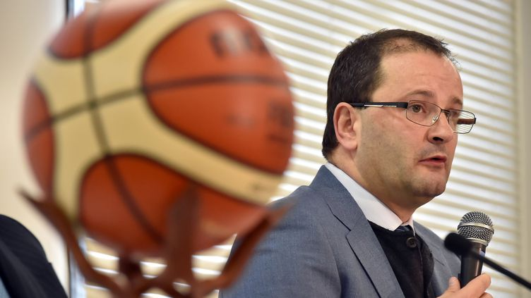 Patrick Baumann, secrétaire général de la FIBA (SHUHEI YOKOYAMA / YOMIURI)