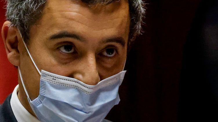 Gérald Darmanin, ministre de l'Intérieur, mardi 10 novembre 2020. (THOMAS COEX / AFP)