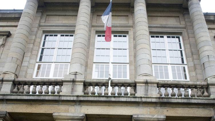 Le palais de justice de Saint-Brieuc (Côtes-d'Armor). (DAVID ADEMAS / MAXPPP)