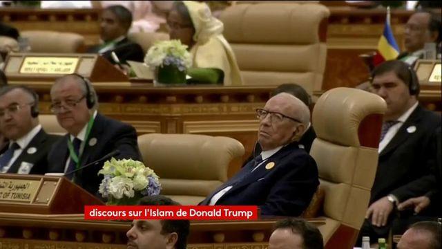 """VIDEO. Donald Trump sur le terrorisme :  """"il s'agit d'une lutte entre le bien et le mal"""""""