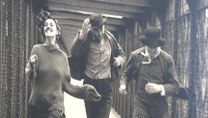 """""""Jules et Jim"""" film de François Truffaut, 1962  (Raymond Cauchetier)"""