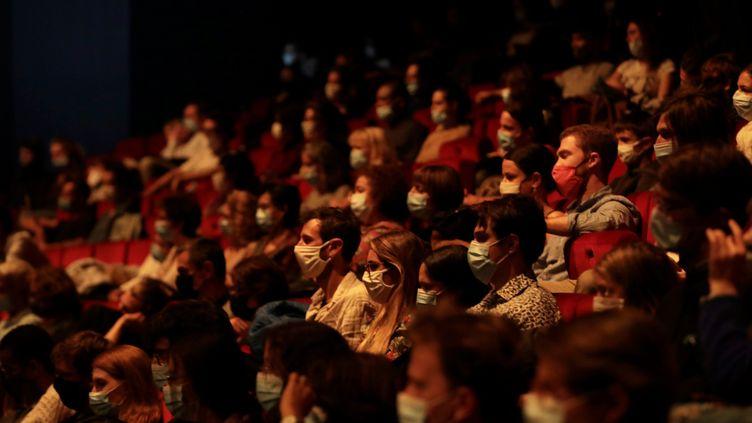 Au théâtre de la Criée à Marseille, le 17 octobre 2020 (photo d'illustration). (VALERIE VREL / MAXPPP)