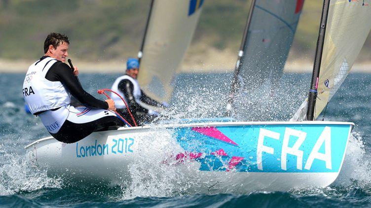 Jonathan Lobert a décroché la 23e médaille française, la première pour la voile