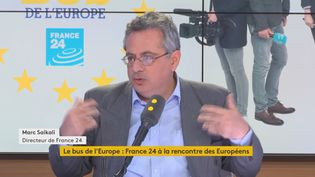 Marc Saikali, directeur de France 24 (sur franceinfo mercredi 3 avril 2019) (FRANCEINFO / RADIOFRANCE)