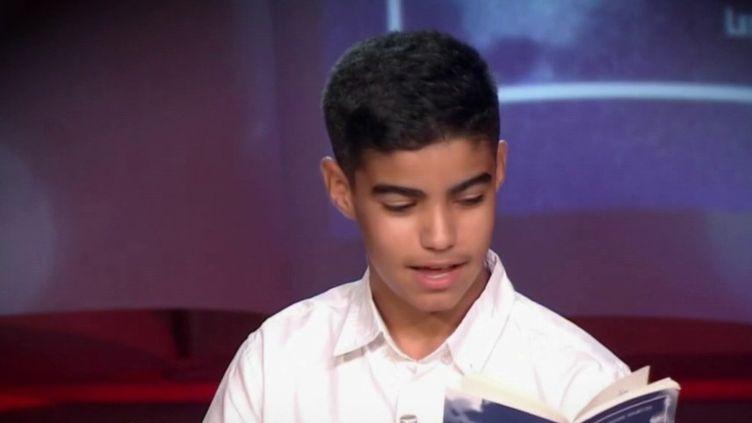 Meilleur jeune lecteur de France : le pouvoir des mots (Capture d'écran France 2)