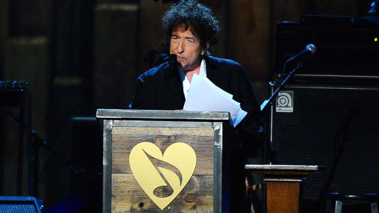 Bob Dylan auxMusiCares Person of the Year award  ( Vince Bucci/AP/SIPA)