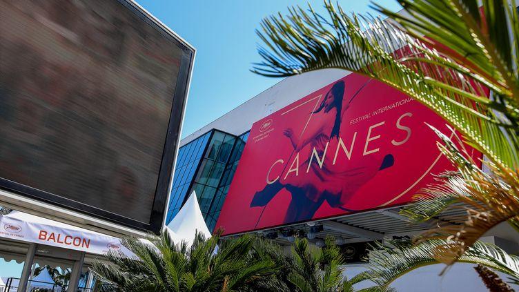 La croisette se prépare pour accueillir le Festival de Cannes. (MAXPPP)