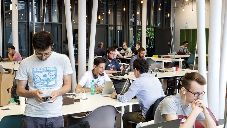 L'incubateur de start-up EuraTechnologies, à Lille. (SEBASTIEN JARRY / MAXPPP)