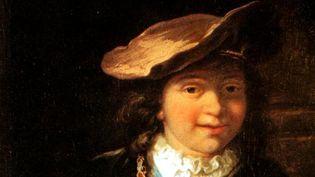 """Reproduction du tableau """"L'enfant à la bulle de savon"""" de Rembrandt (détail)  (Roland Gal / BEP / Nice-Matin / MaxPPP)"""
