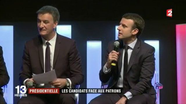 Présidentielle 2017 : les candidats face aux patrons