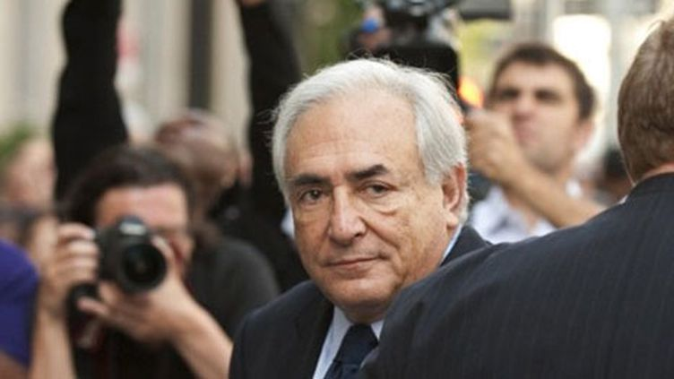 Dominique Strauss-Kahn arrive à la Cour de Manhattan, à New York, le 6 juin 2011. (AFP - Don Emmert)