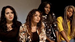 Les jeunes actrices de F(l)ammes  (France 3/Culturebox / capture d'écran)
