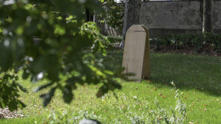 L'espace funéraire écologique du cimetière parisien d'Ivry. (JEAN-PIERRE VIGUIÉ)