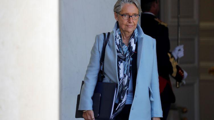Elisabeth Borne, nommée ministre de la Transition écologique en lieu et place de François de Rugy, quitte l'Elysée après un Conseil des ministres, le 15 mai 2019. (THOMAS SAMSON / AFP)