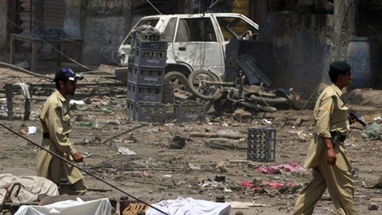 L'attentat a touché Yakaghund, village du district tribal de Mohmand. (AFP - A Majeed)