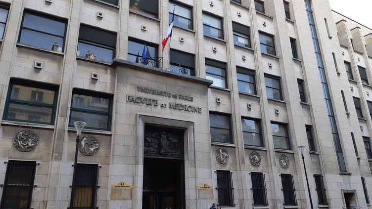 La faculté de médecine de Paris-Descartes. (RADIO FRANCE / ELODIE GUEGUEN)
