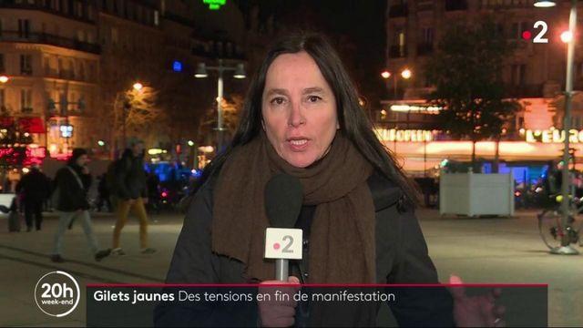 Gilets jaunes : une fin de manifestation mouvementée