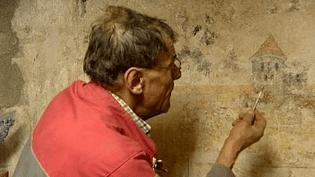 Le viticulteur et sa fresque  (France 3/Culturebox)
