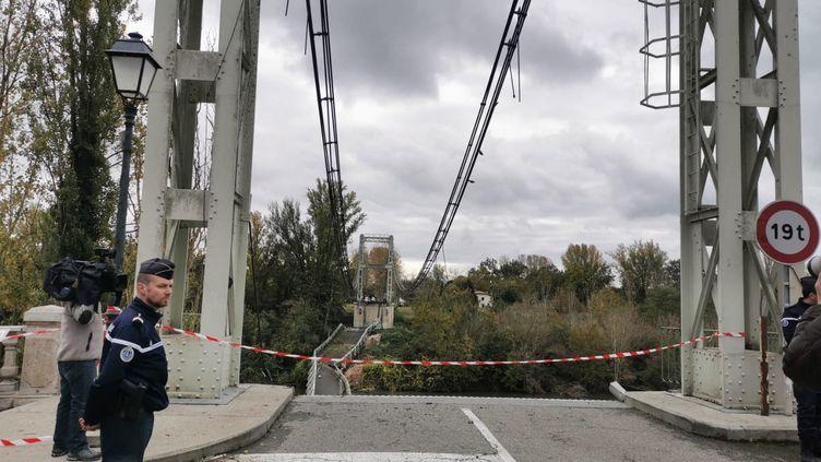 Le pont de Mirepoix-sur-Tarn. (THÉO CAUBEL / FRANCE-BLEU OCCITANIE)