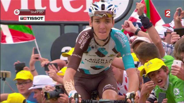 Tour de France : le Français Bardet gagne la 12e étape à Peyragudes