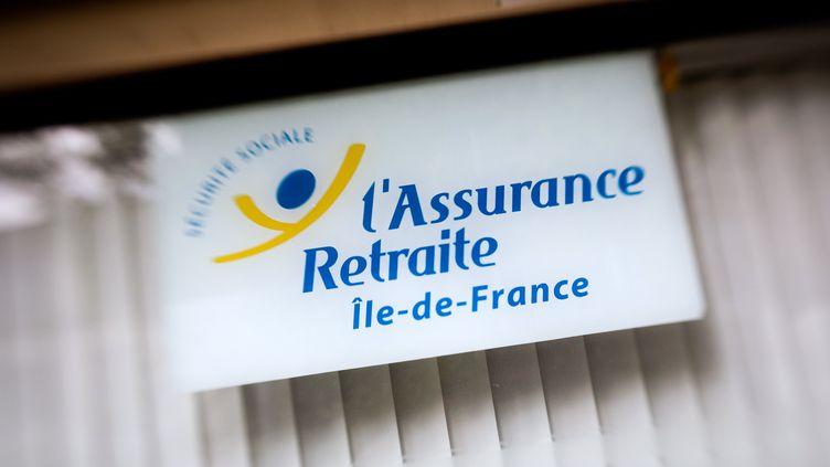 Assurance retraite à Paris, en Ile-de-France. (LOIC VENANCE / AFP)