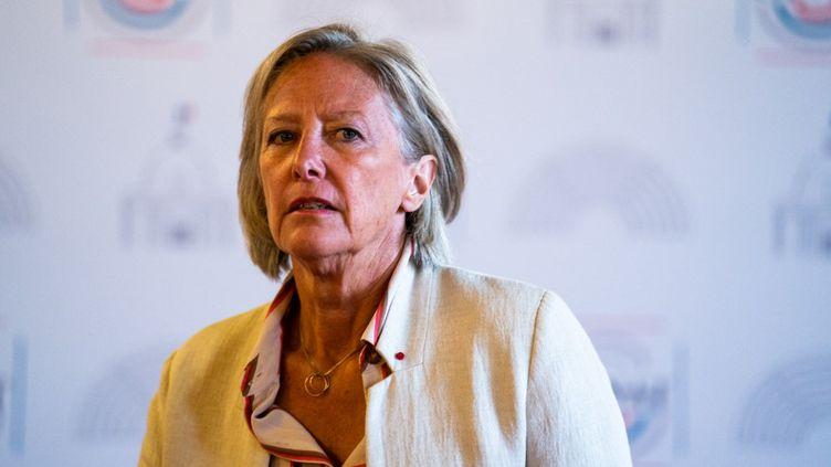 Sophie Cluzel à Paris, le 1er juillet 2020. (XOSE BOUZAS / HANS LUCAS / AFP)