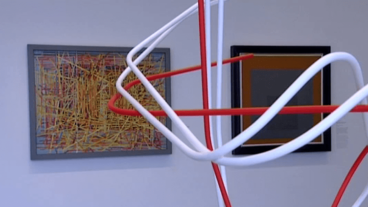 """Exposition""""Entre deux horizons"""" au Centre Pompidou-Metz  (France 3 / capture d'écran)"""