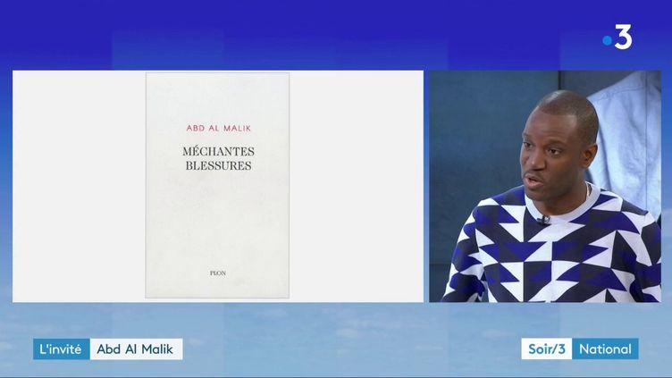 """Abd Al Malik et son livre """"Méchantes blessures"""" (France 3)"""