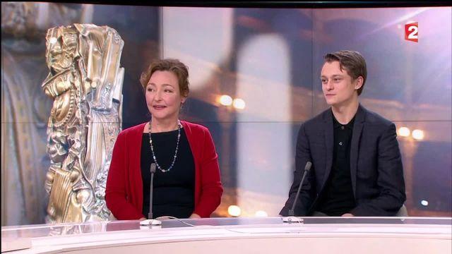 César : leçon de cinéma avec Catherine Frot et Rod Paradot