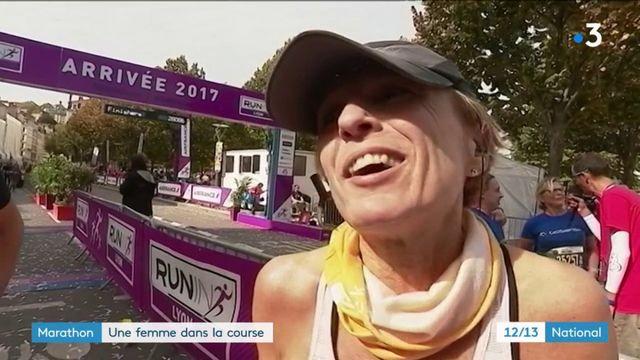 Marathon : une femme dans la course