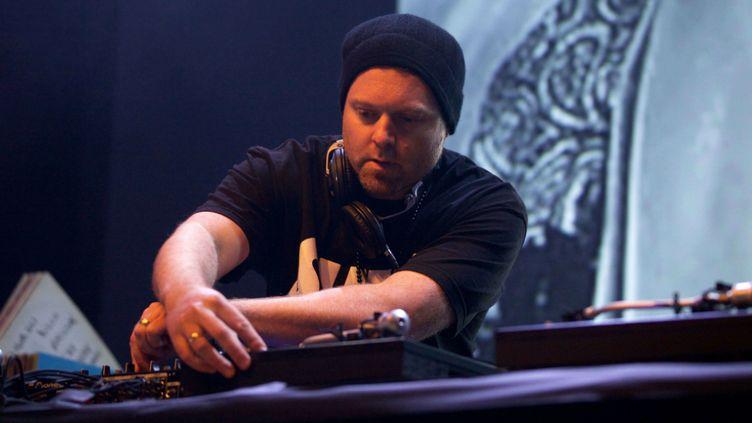 """(DJ Shadow a sorti son premier album, """"Endtroducing"""", il y a vingt ans © Stephanie Paschal/REX/REX/SIPA)"""