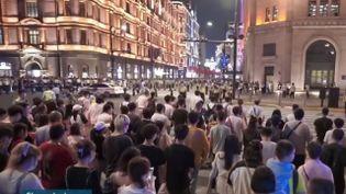 Chine : la période de vacances créée des cohues dans les aéroports et les gares (FRANCE 3)