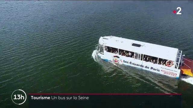 Tourisme : Marcel le Canard, un bus amphibie inédit à Paris
