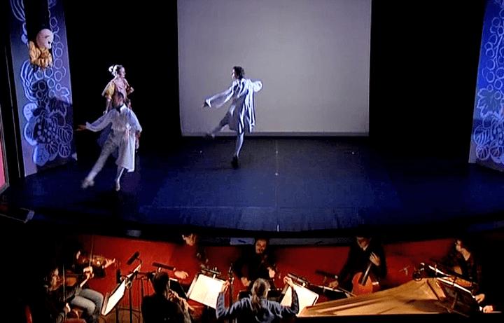 """""""Monsieur de Pourceaugnac"""" comédie ballet miss en musique par Lully et interprétée par l'orchestre Saint-Julien  (France 3 / Culturebox)"""