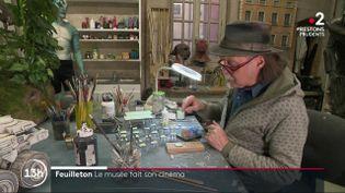 Culture : rencontre avec Dan Ohlmann, le créateur du musée insolite Miniature et Cinéma (FRANCE 2)