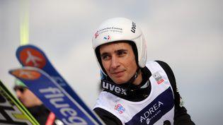 JasonLamy-Chappuis lors de la Coupe du monde de combiné-nordique, à Chaux-Neuve (doubs), le 11 janvier 2014. (  MAXPPP)