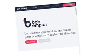 Capture d'écran du site Internet bob-emploi.fr. (RADIO FRANCE / CAPTURE D'ÉCRAN)