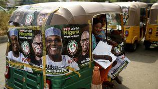Les élections, comme celle qui a eu lieu au Nigeria en février 2019, sont une cible de choix pour les fake news. (PIUS UTOMI EKPEI / AFP)