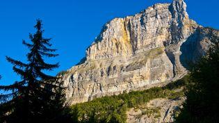 Un Français s'est tué après s'êtreélancé de la face nord du Mont Granier, dans le massif de la Chartreuse (Isère), dimanche 17 août 2014. (FRANC GUIZIOU / HEMIS.FR / AFP)