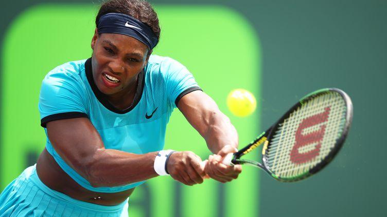 Serena Williams. (CLIVE BRUNSKILL / GETTY IMAGES NORTH AMERICA)