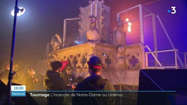 """Cinéma : sur le tournage de """"Notre-Dame brûle"""" de Jean-Jacques Annaud"""