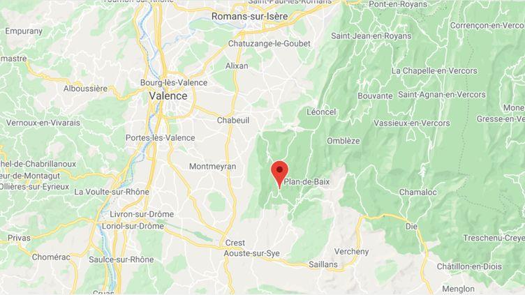 Gigors-et-Lozeron (Drôme). (GOOGLE MAPS)