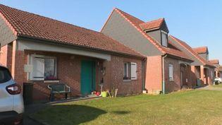 La maison du suspect à Pont-sur-Sambre (Nord). (FRANCE 2)