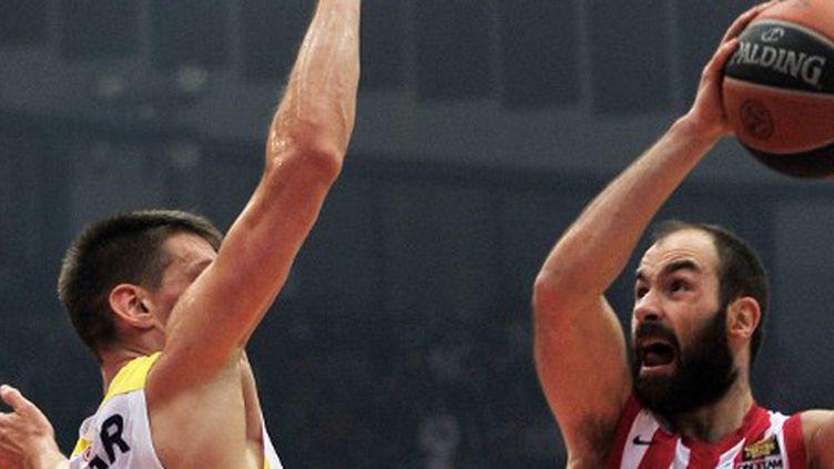 Vassilis Spanoulis (Olympiakos) (LOUISA GOULIAMAKI / AFP)