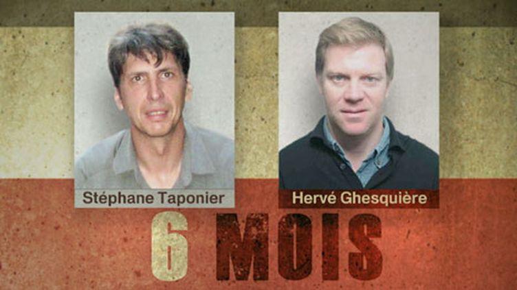 Stéphane Taponier et Hervé Ghesquière