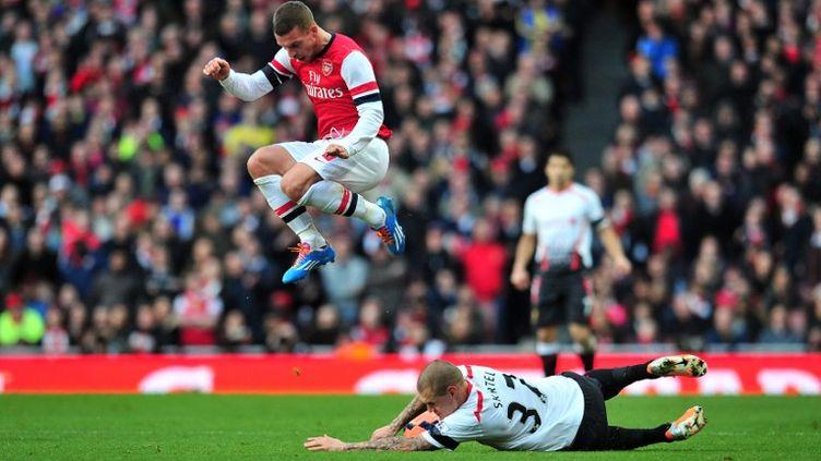 Arsenal - Liverpool.  (GLYN KIRK / AFP)