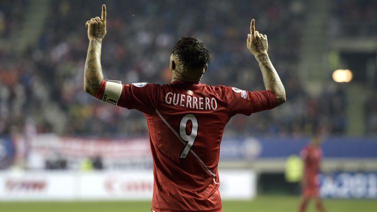 Paolo Guerrero (Pérou) (JUAN MABROMATA / AFP)