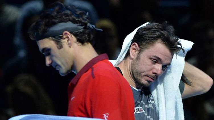 Roger Federer et Stan Wawrinka