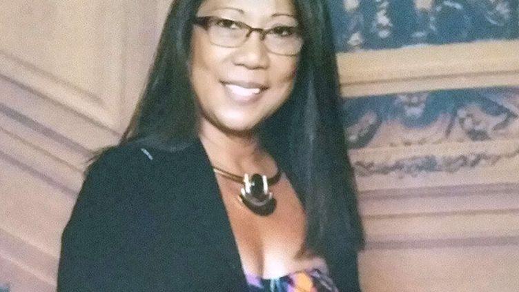 Marilou Danley, la compagne du tireur de Las Vegas, pose sur une photographie publiée sur les réseaux sociaux. (SHUTTERSTOCK / SIPA / REX)